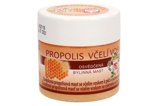 Foto 4 - Bylinná mast 150 ml - propolis včelí vosk