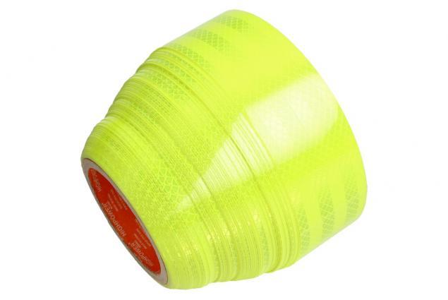 Foto 4 - Reflexní lepící páska 25m neonová žlutá