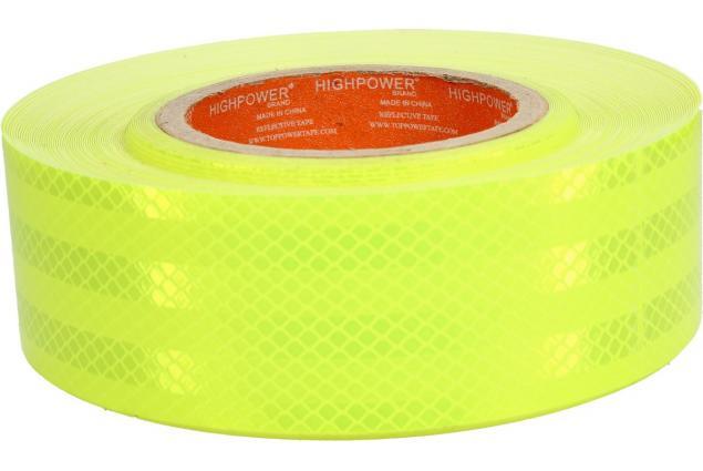 Foto 5 - Reflexní lepící páska 25m neonová žlutá