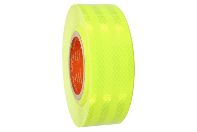 Foto 6 - Reflexní lepící páska 25m neonová žlutá