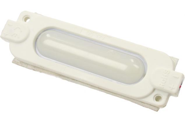 Foto 5 - Nalepovací silná oválná LED dioda bílá