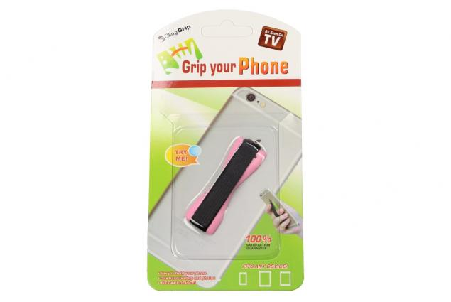 Foto 3 - Praktický elastický popruh na mobil