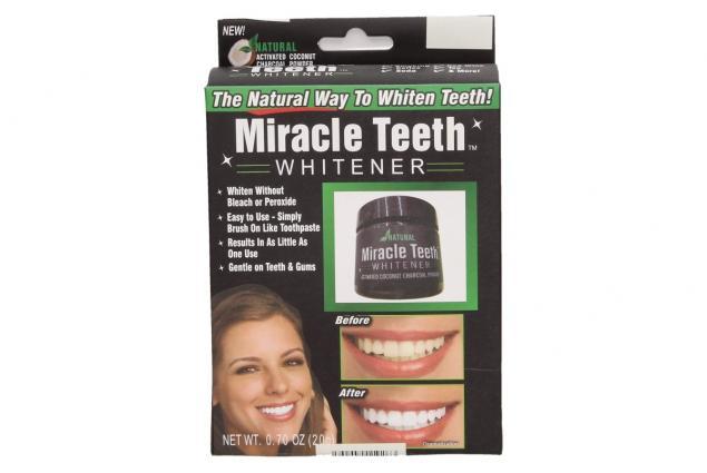 Foto 3 - Přírodní bambusové uhlí pro bělení zubů Miracle Teeth