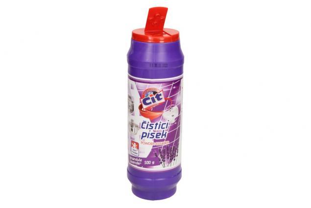 Foto 3 - CIT čistící práškový písek na nádobí 500 g Levandule