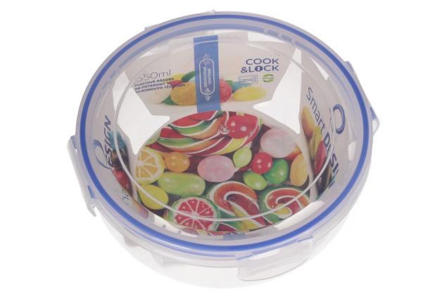 Foto 4 - Kulatá dóza na potraviny s gumovým těsněním 1,3 L