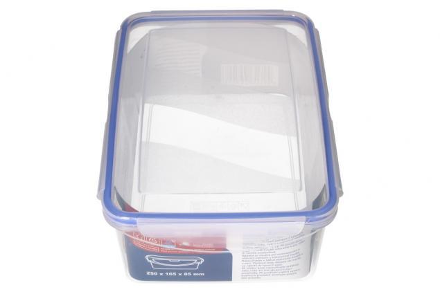 Foto 4 - Obdélníková dóza na potraviny s gumovým těsněním 2,6 L