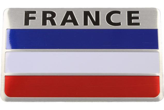 Foto 2 - Kovová samolepka France 8cm x 5cm