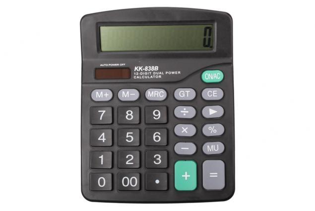 Foto 4 - Velká digitální kalkulačka KK-838B