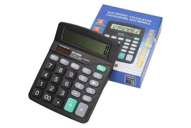 Foto 6 - Velká digitální kalkulačka KK-838B