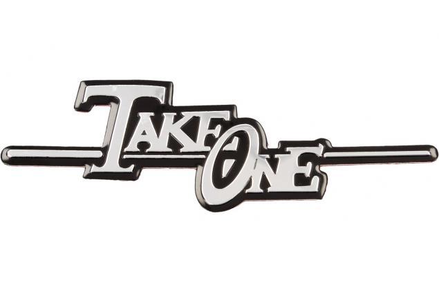 Foto 2 - Kovová samolepka Take One 11,5 cm x 4 cm