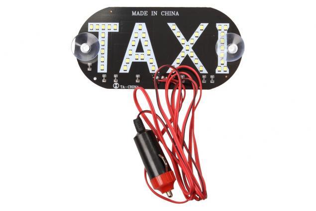 Foto 4 - LED světelná značka taxi 14 x 7 cm