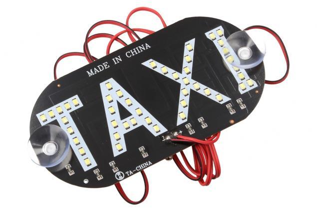 Foto 3 - LED světelná značka taxi 14 x 7 cm