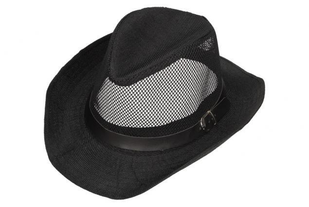 Foto 3 - Letní klobouk s děrováním a páskem