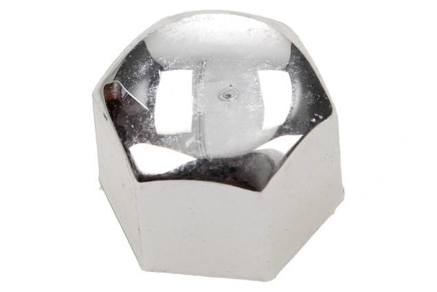 Foto 5 - Sada ozdobných krytů pro šrouby kol stříbrné 19 mm 20 kusů
