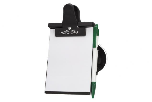 Foto 4 - Papírový tablet na přední sklo s klipsnou
