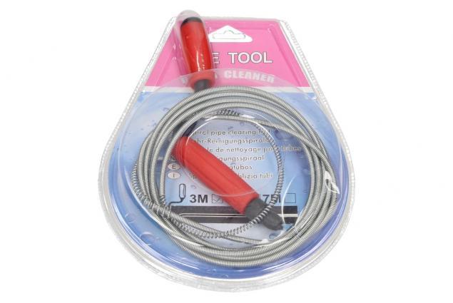 Foto 2 - Ocelové protahovaci pero na čistění trubek 3m