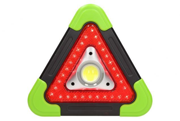 Foto 3 - Multifunkční pracovní světlo SOS trojuhleník 3v1