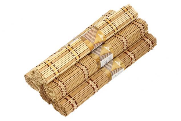 Foto 6 - Prostíraní bambusové
