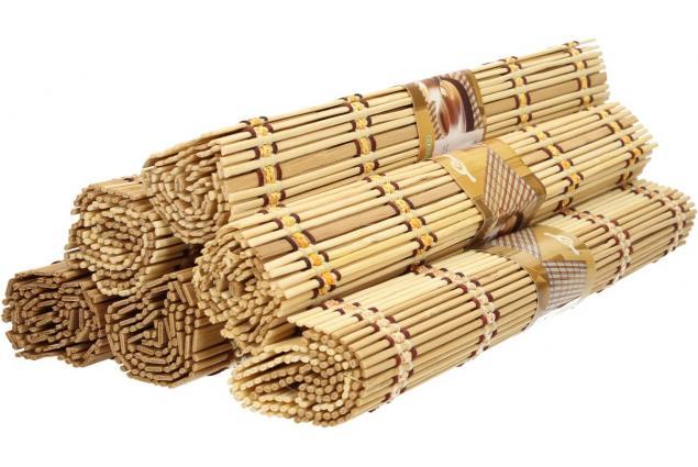 Foto 7 - Prostíraní bambusové