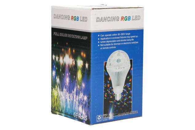 Foto 7 - Disco RGB rotační žárovka