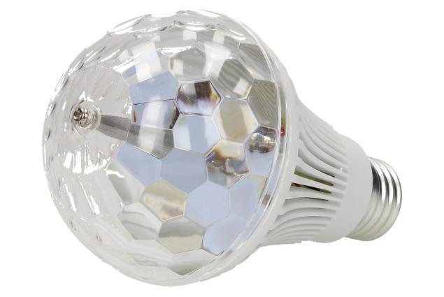 Foto 3 - Disco RGB rotační žárovka