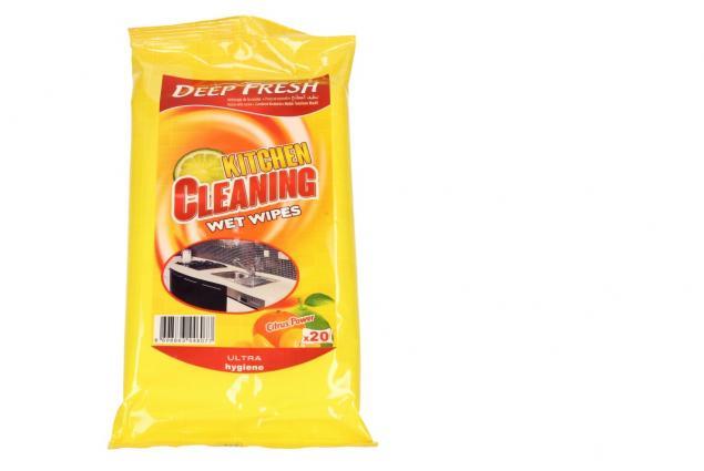 Foto 2 - Deep Fresh vlhčené čistící ubrousky do kuchyně