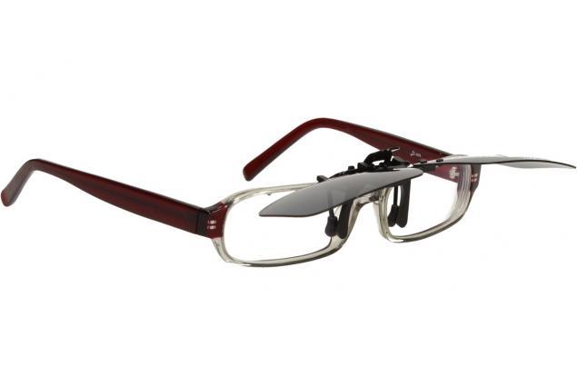 Foto 4 - Polarizační sluneční Klip na brýle černý