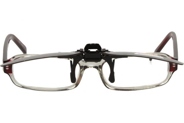 Foto 5 - Polarizační sluneční Klip na brýle černý