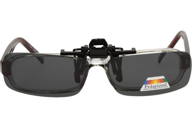 Foto 6 - Polarizační sluneční Klip na brýle černý
