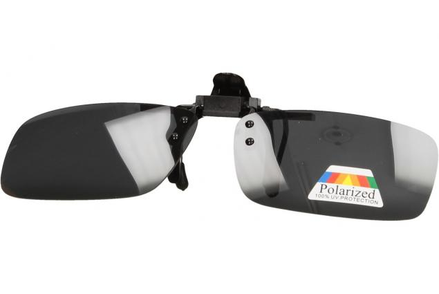 Foto 8 - Polarizační sluneční Klip na brýle černý