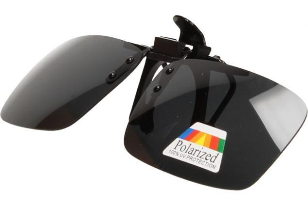 Foto 9 - Polarizační sluneční Klip na brýle černý