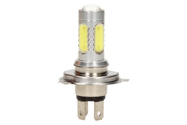 Foto 4 - LED COB žárovka H4 6500K denní studené světlo