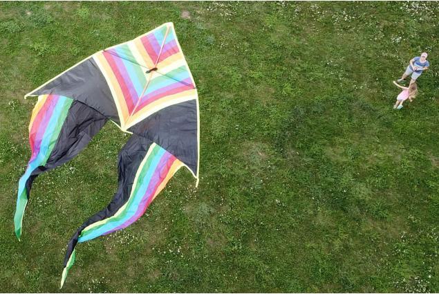 Foto 4 - Létající drak 150 cm barevný