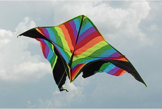 Foto 2 - Létající drak 150 cm barevný