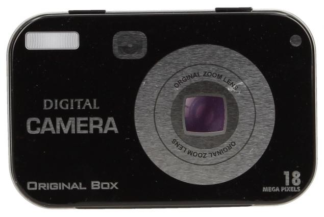 Foto 2 - Retro kovová krabička s motivy 10x6x2 cm