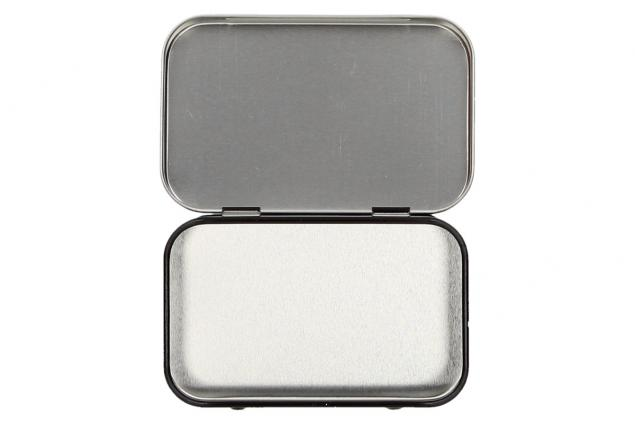 Foto 4 - Retro kovová krabička s motivy 10x6x2 cm