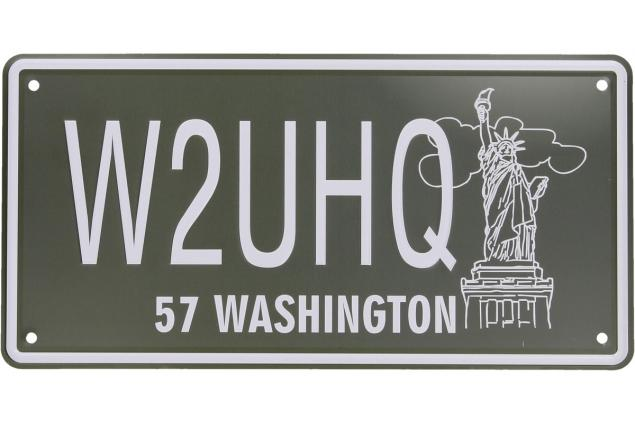 Foto 2 - Cedule značka USA 30x15,5 cm