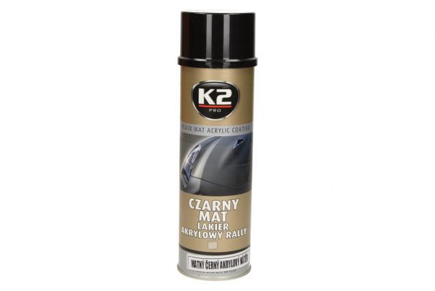 Foto 4 - K2 Akrylová barva ve spreji černá matná