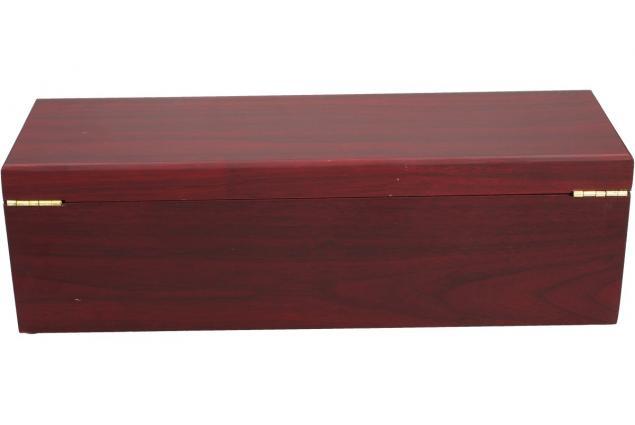 Foto 5 - Krabice na víno v designu dřeva mahagon s příslušenstvím 5v1