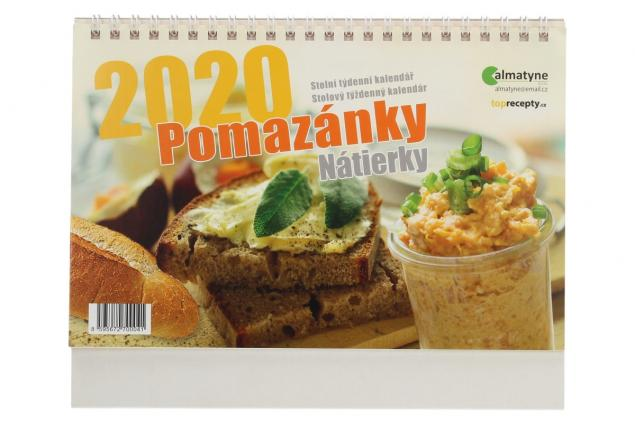Foto 2 - Kalendář 2020 Pomazánky 22 x 17 cm