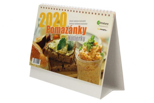 Foto 4 - Kalendář 2020 Pomazánky 22 x 17 cm