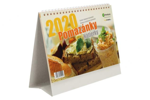 Foto 5 - Kalendář 2020 Pomazánky 22 x 17 cm