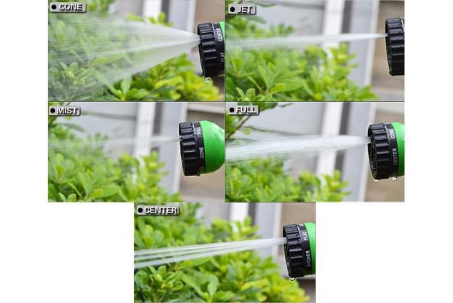 Foto 7 - Smršťovací zahradní hadice - 60 metrů + rozprašovací pistole a rychlospojky