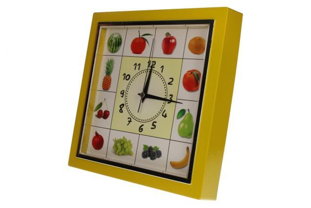 Foto 6 - Nástěnné hodiny FLORINA VEGA ovoce a zelenina ručičkové