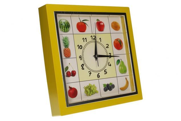 Foto 7 - Nástěnné hodiny FLORINA VEGA ovoce a zelenina ručičkové