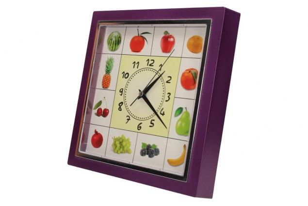 Foto 9 - Nástěnné hodiny FLORINA VEGA ovoce a zelenina ručičkové
