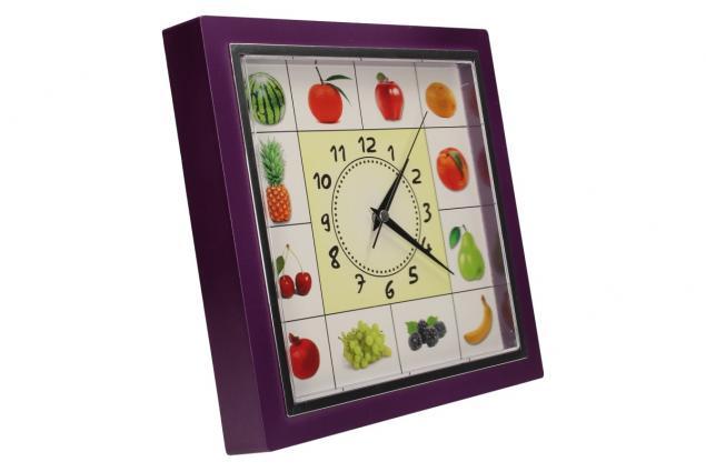 Foto 10 - Nástěnné hodiny FLORINA VEGA ovoce a zelenina ručičkové