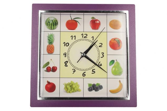 Foto 8 - Nástěnné hodiny FLORINA VEGA ovoce a zelenina ručičkové