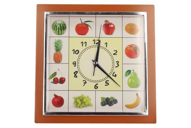 Foto 11 - Nástěnné hodiny FLORINA VEGA ovoce a zelenina ručičkové