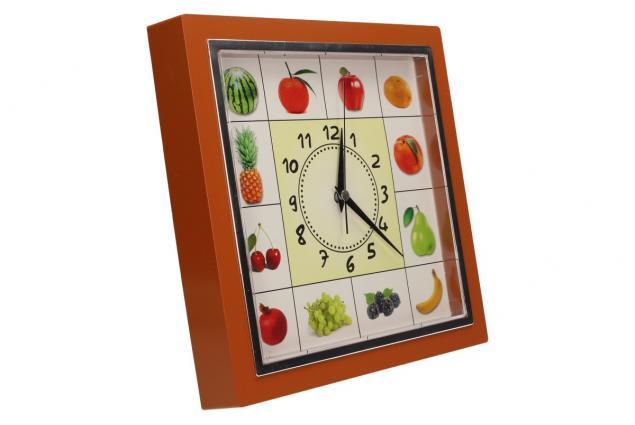 Foto 13 - Nástěnné hodiny FLORINA VEGA ovoce a zelenina ručičkové